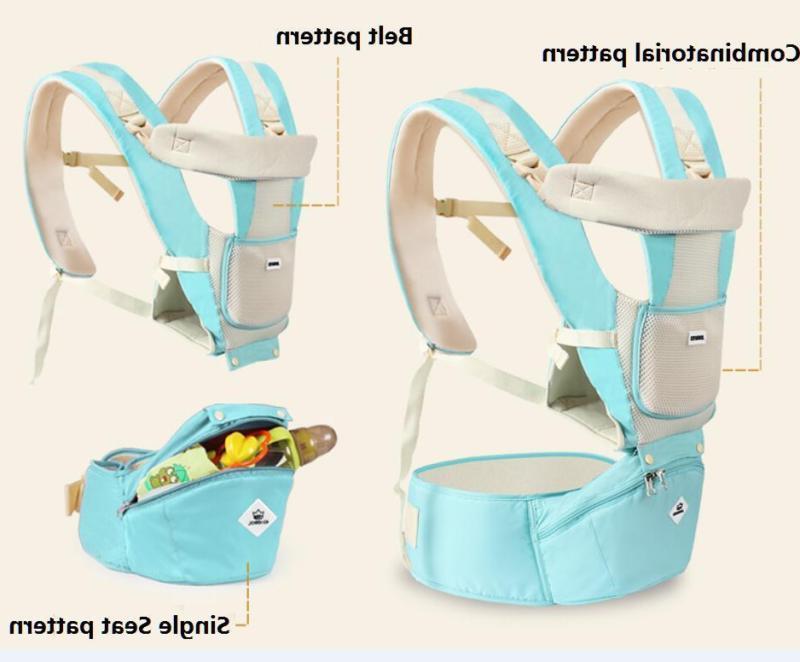 Newborn Ergonomic Backpack w/Hip