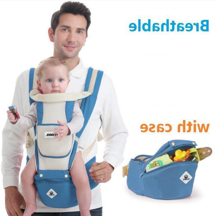 newborn baby carrier breathable ergonomic support wrap