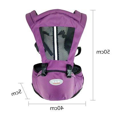 Newborn Baby Carrier Toddler Wrap Belt Backpack Sling