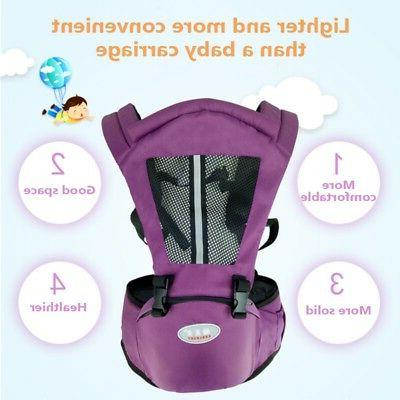 Newborn Baby Carrier Kid Toddler Waist Wrap Sling Backpack Sling