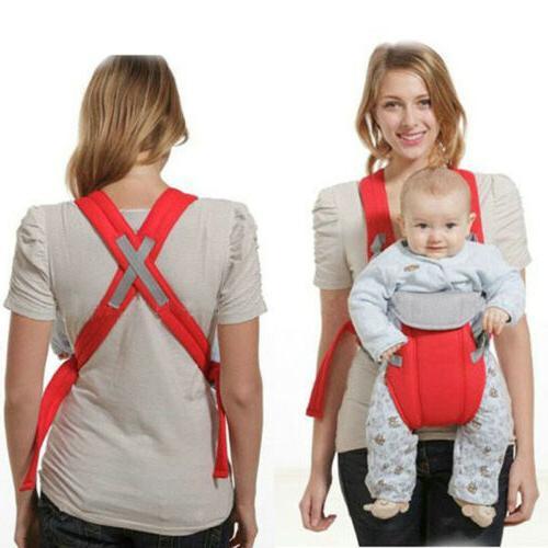 Newborn Infant Adjustable Baby Carrier Sling Rider Backpack Straps