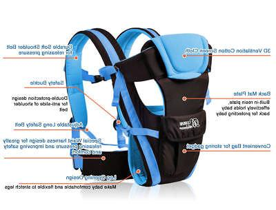 Newborn Baby Sling Rider Backpack