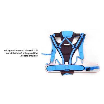 Newborn Adjustable Baby Sling Rider Backpack Wrap