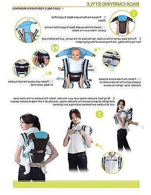 Newborn Baby Carrier Backpack