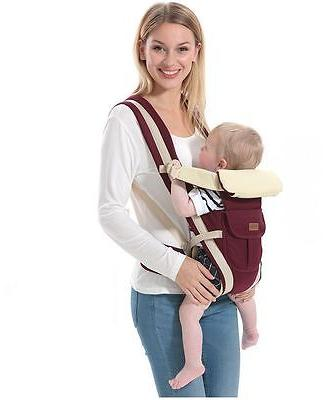 Newborn Infant Baby Sling Rider Backpack Wrap