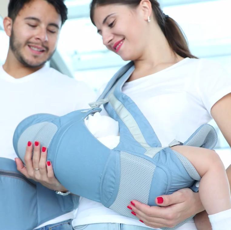Newborn Infant Carrier Breathable Ergonomic Adjustable Sling