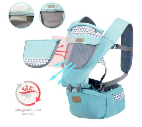 Newborn Infant Baby Breathable Ergonomic Sling