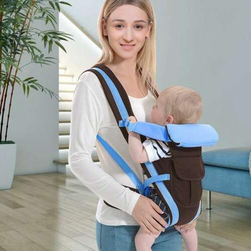 Newborn Carrier Wrap Ergonomic 4 Position Front Back