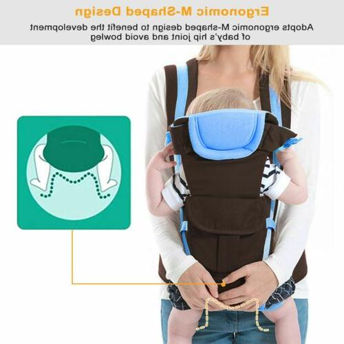 Newborn Wrap Ergonomic Position Back