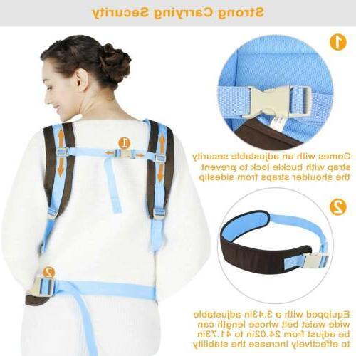 Newborn Baby Wrap Ergonomic 4 Position