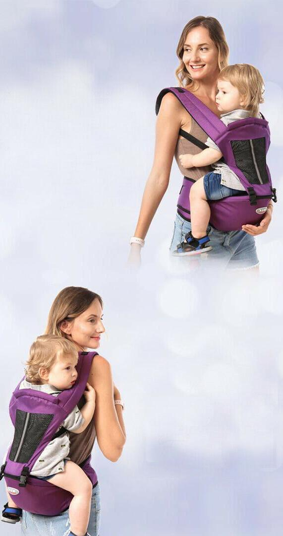 Newborn Breathable Ergonomic Wrap Sling Backpack