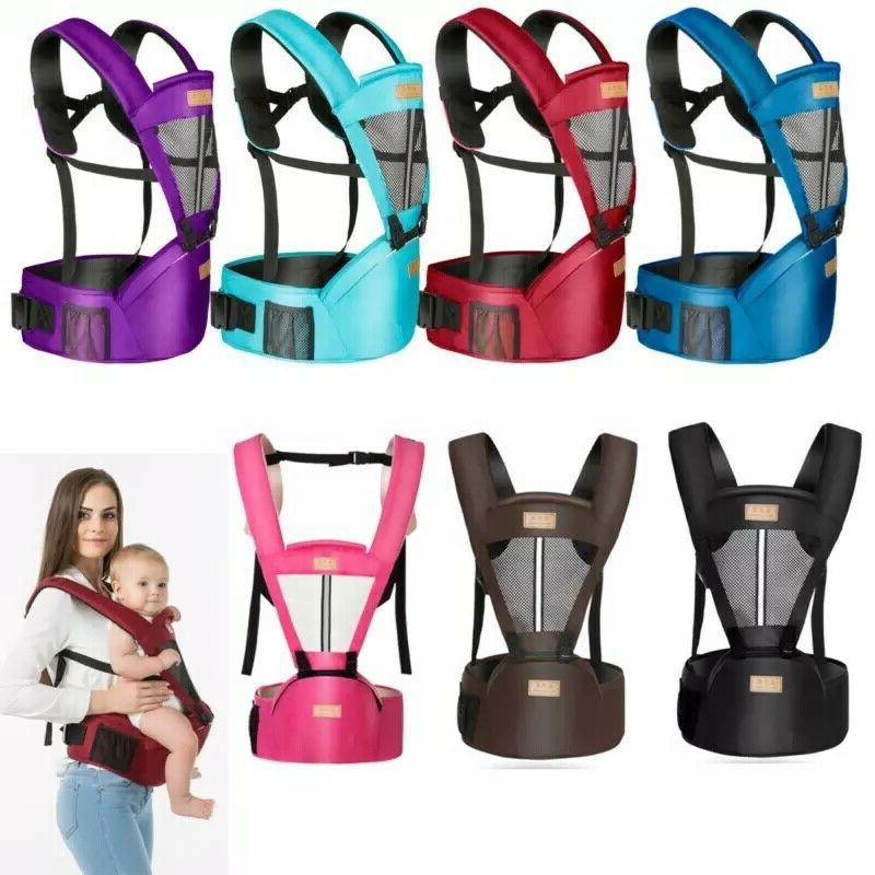 Newborn Toddler Carrier Breathable Adjustable Wrap Sling