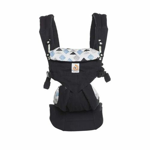 Ergobaby Omni 360 Carry Positions Charcoal Carrier Box**