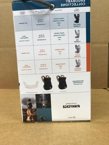 Ergobaby Position Baby Carrier-black Lbs.