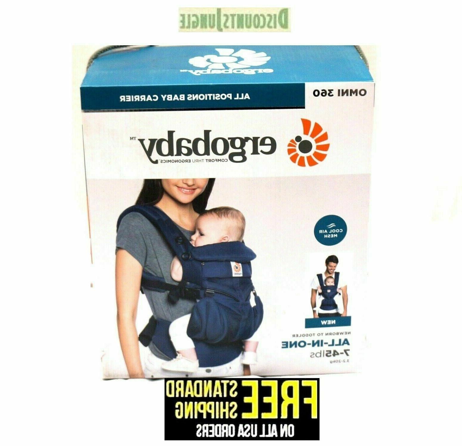 Ergobaby Omni Positions Carrier New born to Air Mesh