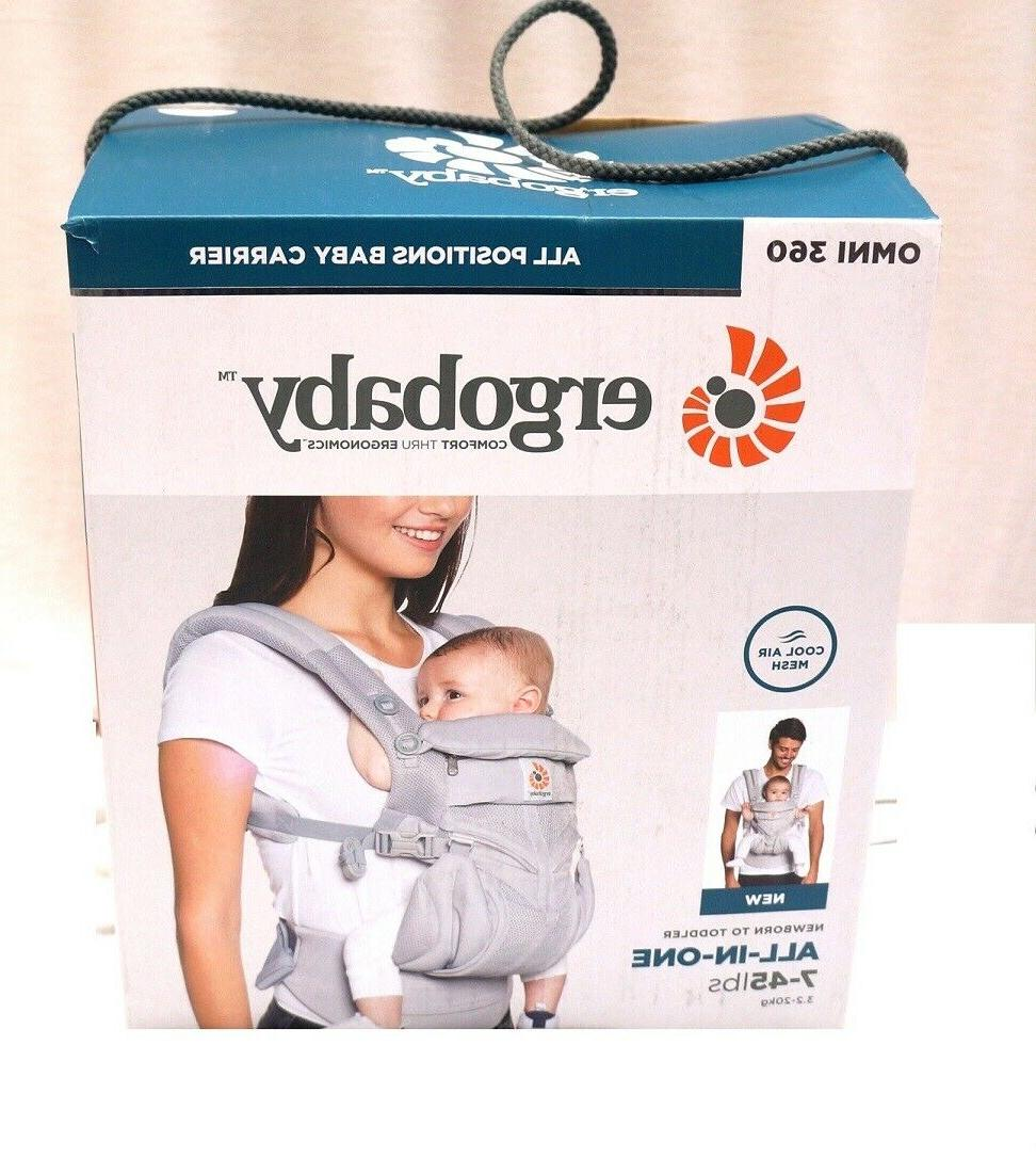 Ergobaby Positions Baby Carrier born Toddler Air