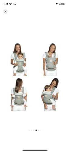 Ergobaby Air Mesh Baby In Box Khaki