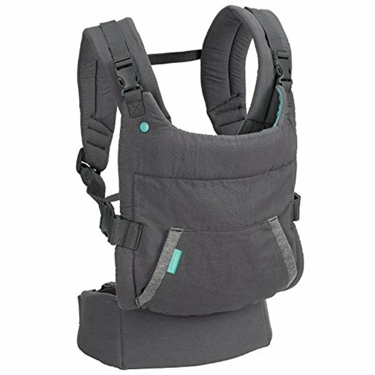 ORIGINAL Infantino Ergonomic Hoodie Carrier , Grey