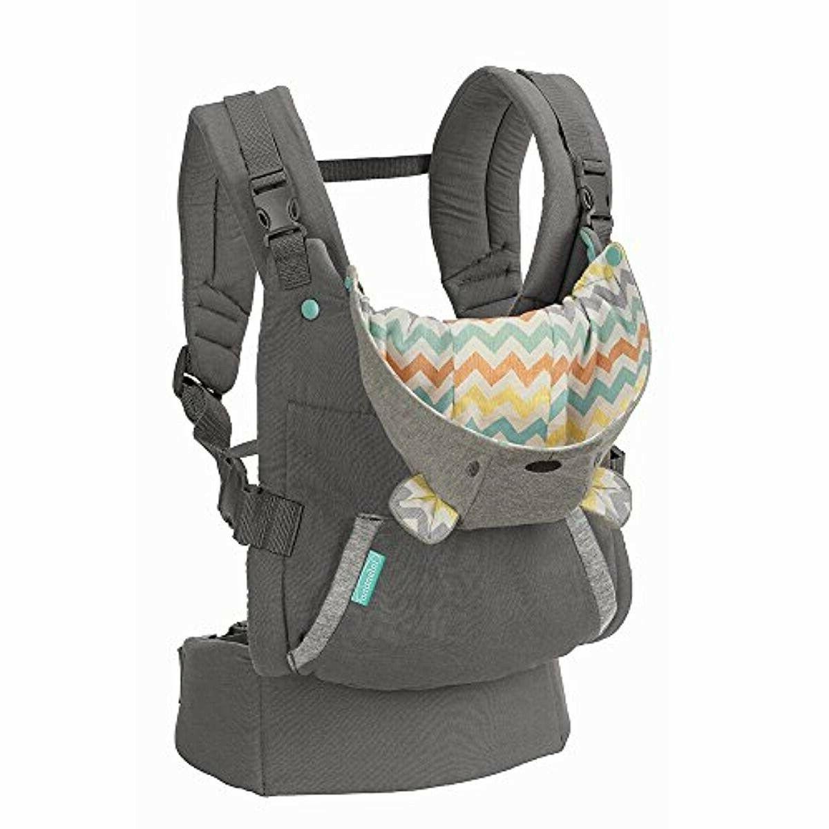 ORIGINAL Infantino Ergonomic Hoodie , Grey
