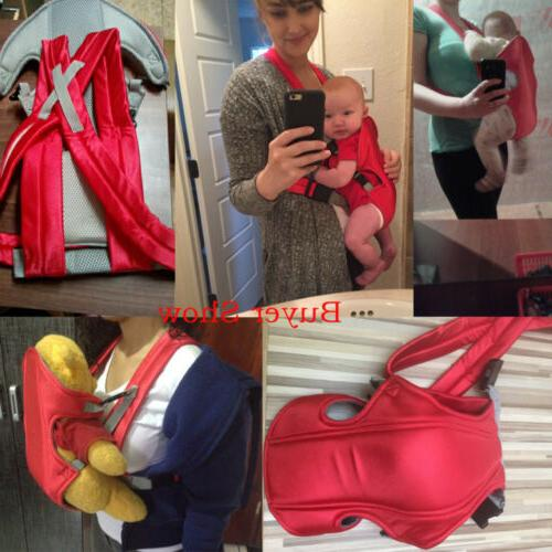 Red Front Facing Baby Carrier Months