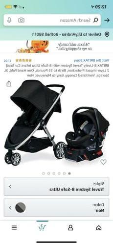 Britax S05587900 B-lively Stroller & B-safe 35 Infant Car Se