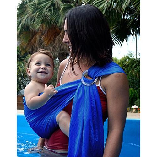 shoulder ring baby water sling