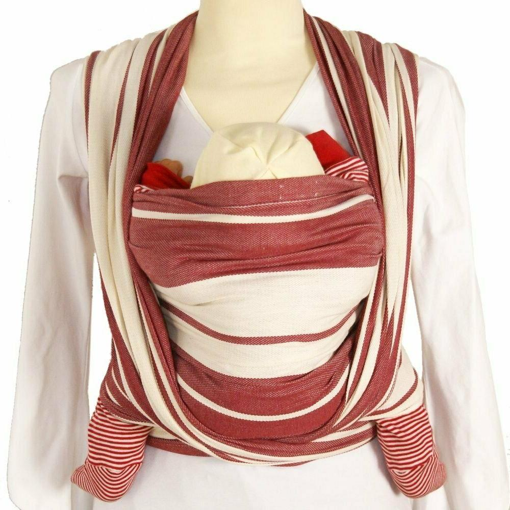 standard stripes red size 5 baby carrier