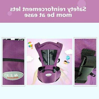 Toddler Baby Carrier Waist Hip Belt Sling Backpack US