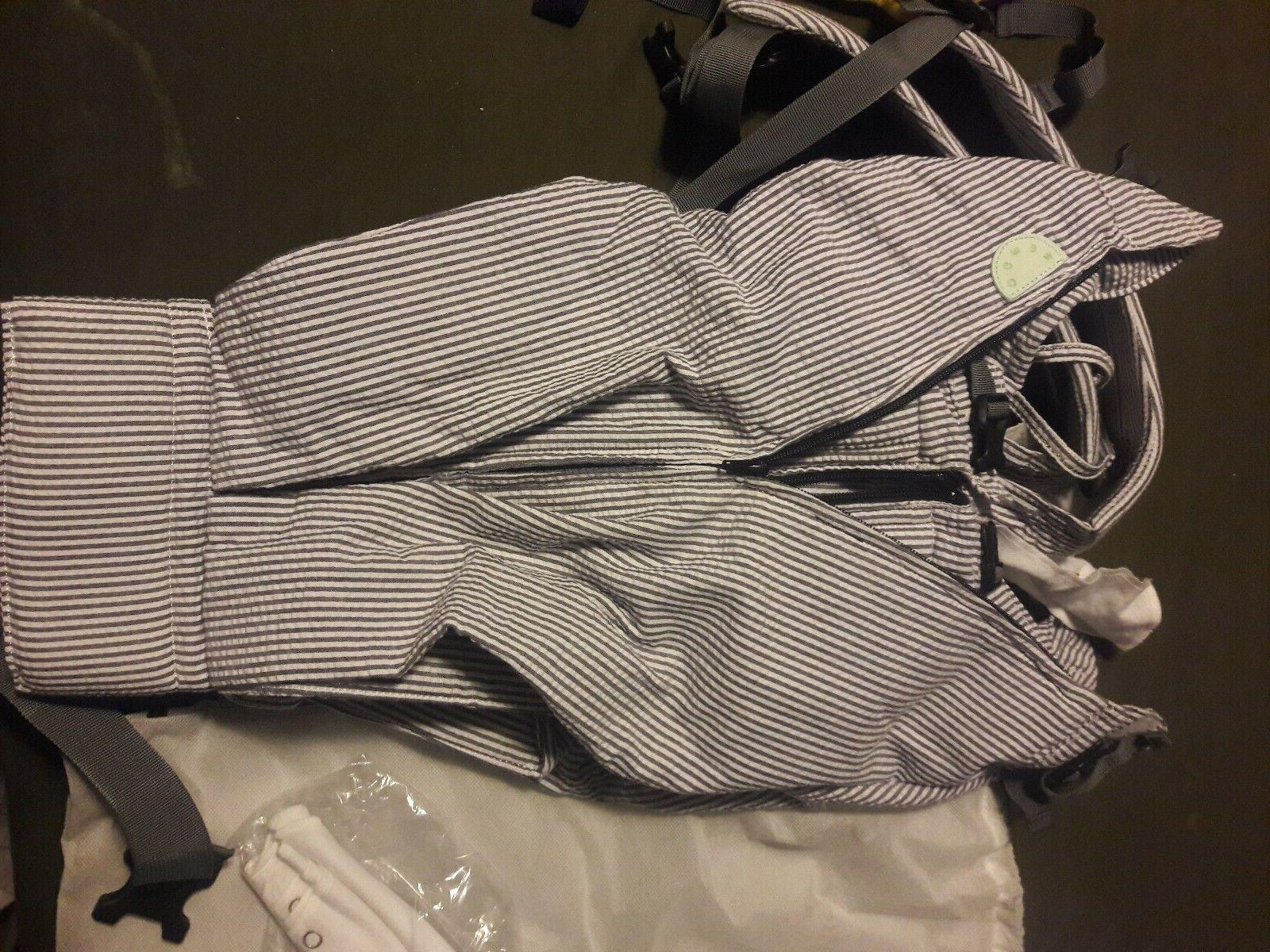 twin baby carrier used twice w bibs