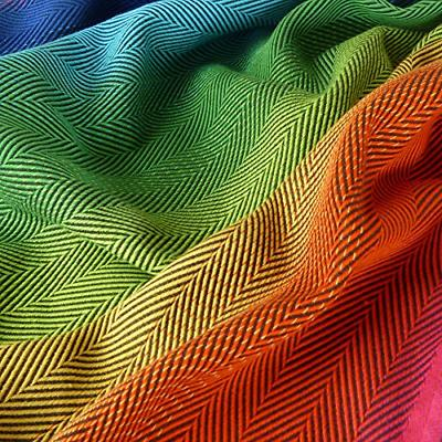 DIDYMOS Wrap Carrier Lisca/Herringbone Rainbow Cotton,