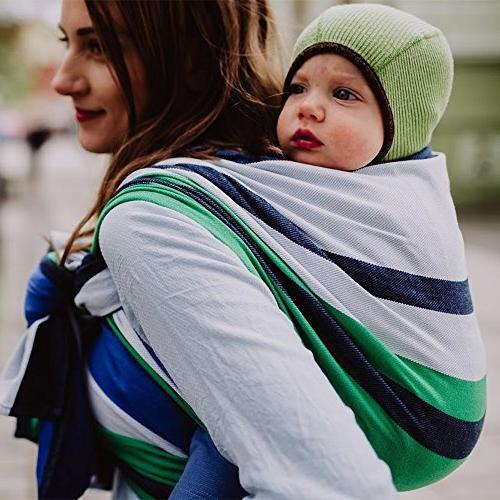 woven wrap carrier marie