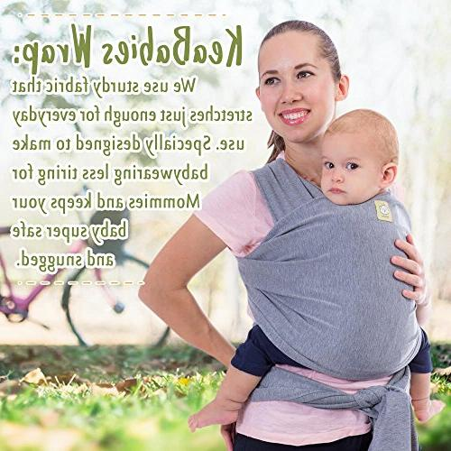 Baby Carrier Stretchy - Ergonomic - Babys Free Babies Carrier - Best Gift Fits