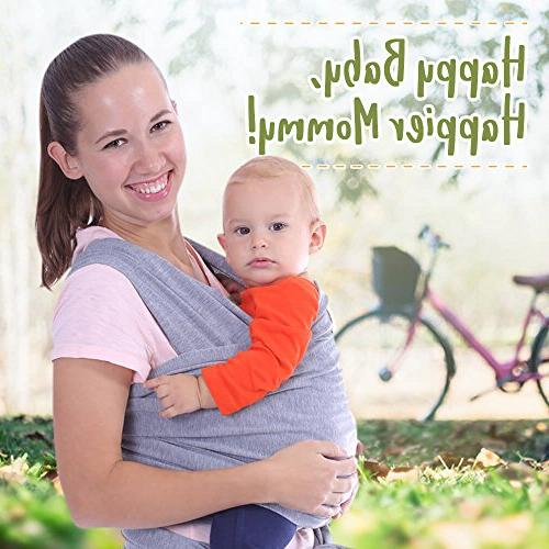 Stretchy Ergo - - Babys Free Carrier Wraps - Baby Gift - Fits