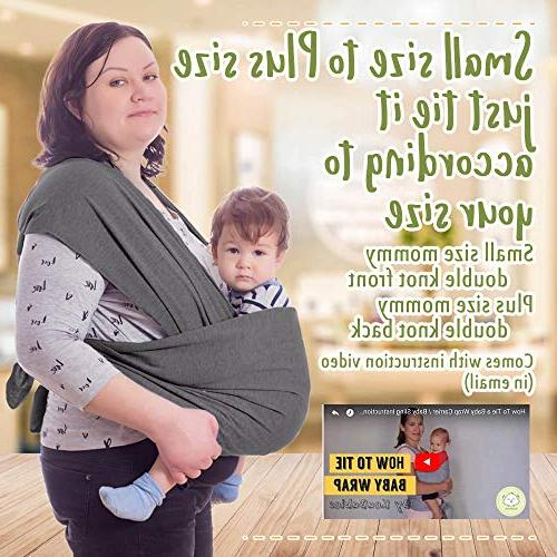 Baby Wrap Stretchy Baby - Ergonomic Baby - Carrier Babys - Best Gift Fits