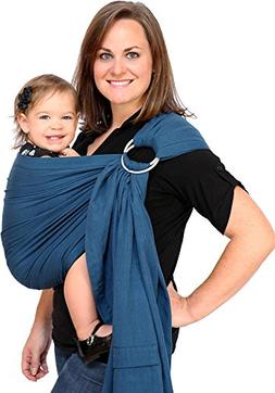 Maya Wrap LPS-12-L Baby Sling- Twilight Blue- LARGE