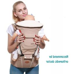 Luxury 9 In 1 Baby Carrier Ergonomic Carrier Backpack  Hipse