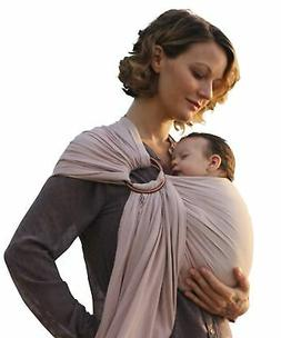 Luxury Ring Sling Baby Carrier – extra-soft bamboo and lin