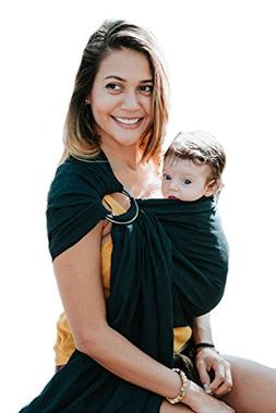 Luxury Ring Sling Baby Carrier – Extra Soft Bamboo & Linen