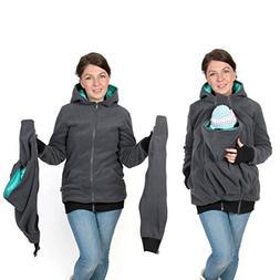 3in1 Maternity Multifunctional Kangaroo Hoodie/jacket for MO