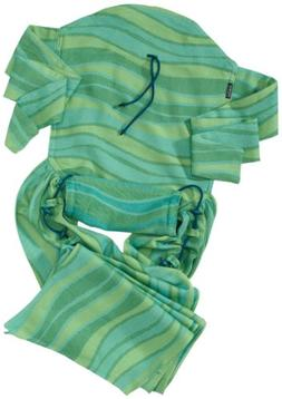DIDYMOS Meh-Dai/Mei Tai  Baby Carrier Waves Lime , One Size