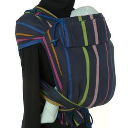 DIDYMOS Meh-Dai/Mei Tai  Baby Carrier Stripes Lisa , One Siz