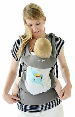 Mo+m Baby Carrier/Infant-Toddler-Head Support/Storage/Bottle