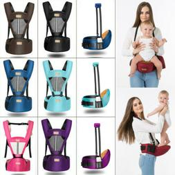 Multifunctional Baby Carrier With Hip Seat Removable Waist S