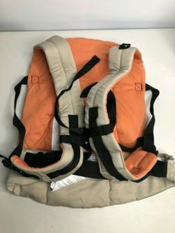 Evenflo Natural Fit Soft Carrier, Khaki Orange, Free US Ship