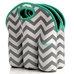 Neoprene 6 Pack Bottle Carrier, Extra Thick Insulated Baby B