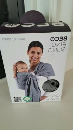 Beco Baby Carrier - Ring - Sling Carrier in Cloud 0m+