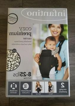 NEW Infantino Cozy Premium Baby Carrier 8 - 25 Pounds Infant
