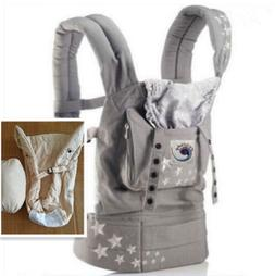 New ERGO Original Baby Carrier Galaxy Grey with Meter Infant