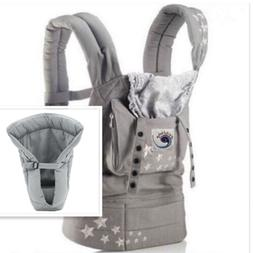New ERGO Original Baby Carrier Galaxy Grey with Gray Infant