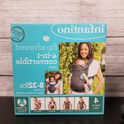 NEW Infantino Flip Advanced 4-in-1 Convertible Baby Carrier